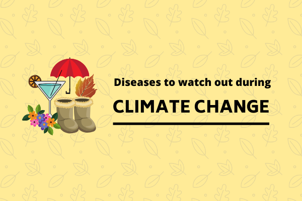 Climate change brings a lot of health complications with it, read about them in detail.