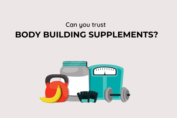 are body building supplements healthy?