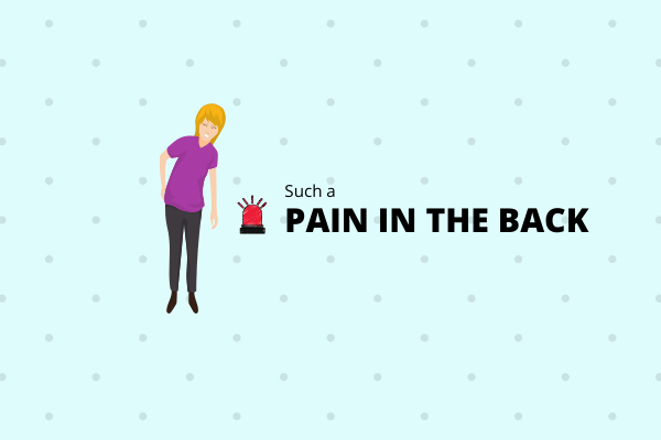 Back pain problem can be cured however information is needed. Read more
