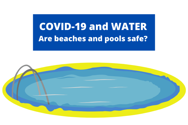 can coronavirus spread through water, beaches, and pools?