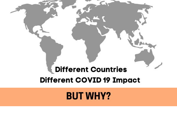 why are some countries facing lesser cases of coronavirus than the other