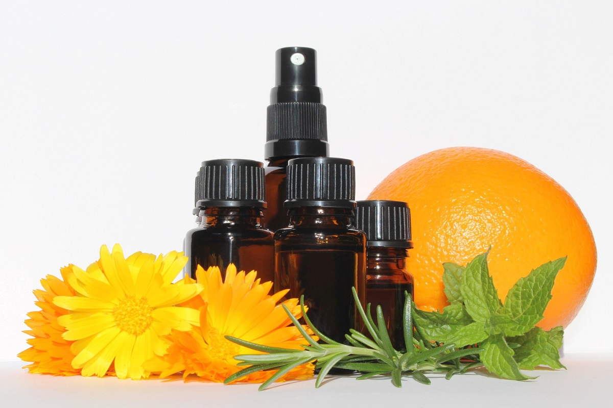 Fragrant Healing with Orange Oil!
