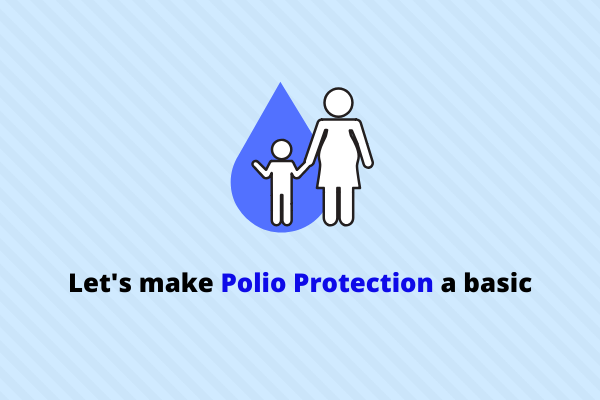 Missing out polio protection can result in paralysis and even death. Let's educate everyone about it.