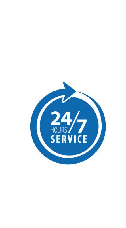 24*7 service