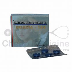 Eriacta 100Mg with Rx Sildenafil Citrate Front View