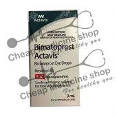 Buy Actavis Bimatoprost (With Brush) 300 Mcg (Bimatoprost Ophthalmic Solution)
