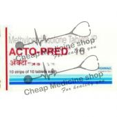 Buy Acto Pred Tablets 16 Mg
