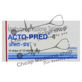 Buy Acto Pred Tablets 4 Mg