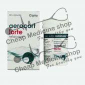 Buy Aerocort Forte Rotacaps  200/100 Mcg (Levosalbutamol / Levalbuterol  )