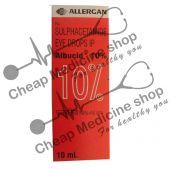 Albucid 10% 10 ml