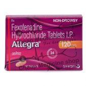 Allegra 120 Mg, Allegra, Fexofenadine