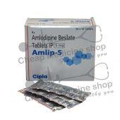 Amlip 5 Mg, Norvasc, Amlodipine