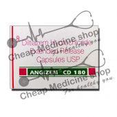 Buy Angizem 180 Mg (Cardizem, Diltiazem)