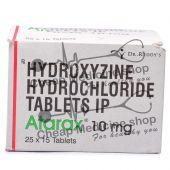 Atarax 10 Mg, Atarax, Hydroxyzine HCl