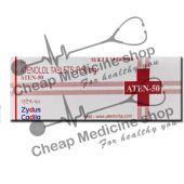 Buy Aten  50 Mg (Tenormin, Atenolol)