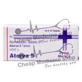 Atorva 5 Mg, Lipitor, Atorvastatin