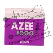 Buy Azee 1000 Mg (Zithromax)