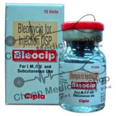 Bleocip 15 Units Injection