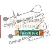 Buy Cardivas CR 40 Mg (Coreg, Carvedilol)