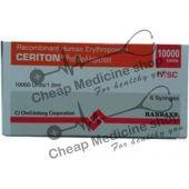 Buy Ceriton Epo 10000 IU 1 ml Injection