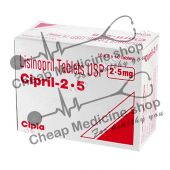 Buy Cipril 2.5 Mg (Prinivil, Lisinopril)