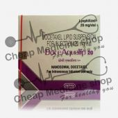 DoceAqualip 20 Mg Injection