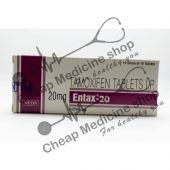Buy Entax 20 mg Tablet