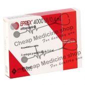 Buy Eprex 4000IU 0.4 ml Injection