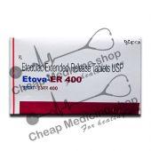 Buy Etova 400 Mg Tablet ER