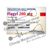 Buy Flagyl 200 Mg Tablet