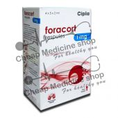 Buy Foracort Respules 1 Mg + 20 Mcg