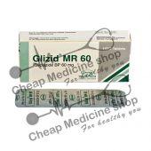 Buy Glizid 60 Mg Tablet MR (Diaprel)