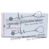Glycomet 1000 Mg, Glucophage, Metformin Hcl