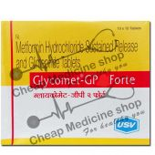 Buy Glycomet-GP 1 Forte Tablet (Glucophage)