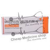 Grisovin FP 250 Mg, Fulvicin, Griseofulvin