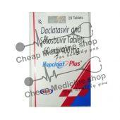 Hepcinat Plus 400 Mg 60 Mg Tablet