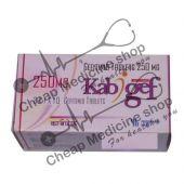 Buy Kabigef 250 mg Tablet