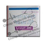 Buy Levipil XR 500 Mg Tablet