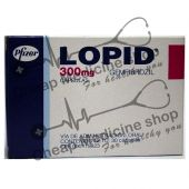 Buy Lopid  300 Mg