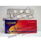 Buy Losar 100 Mg Tablet (Losartan)
