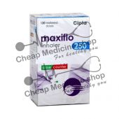 Buy Maxiflo 6 Mcg + 250 Mcg Inhaler