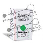 Buy Monocef 500 Mg Injection (Rocephin)
