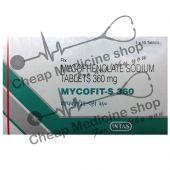 Buy Mycofit  250 Mg (CellCept)