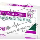 Buy Ocuvir Dispersible Tablets 200 Mg