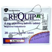 Buy Requip XL 4 Mg (Ropinirole Hydrobromide)