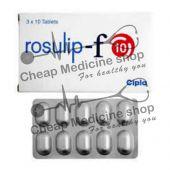 Buy Rosulip-F 10 Tablet