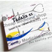 Buy Super Tadalis SX (Tadalafil /Depoxetine)