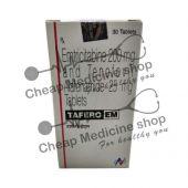 Buy Tafero EM 200 Mg + 25 Mg Tablet