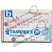 Buy Tamodex 20 Mg Tablet