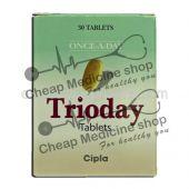 Buy Trioday Tablet 300 Mg+300 Mg+600 Mg